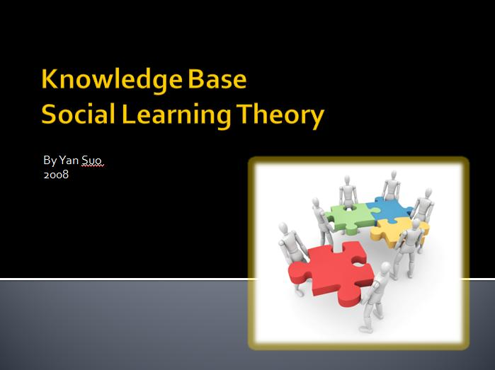 learning theory knowledge base